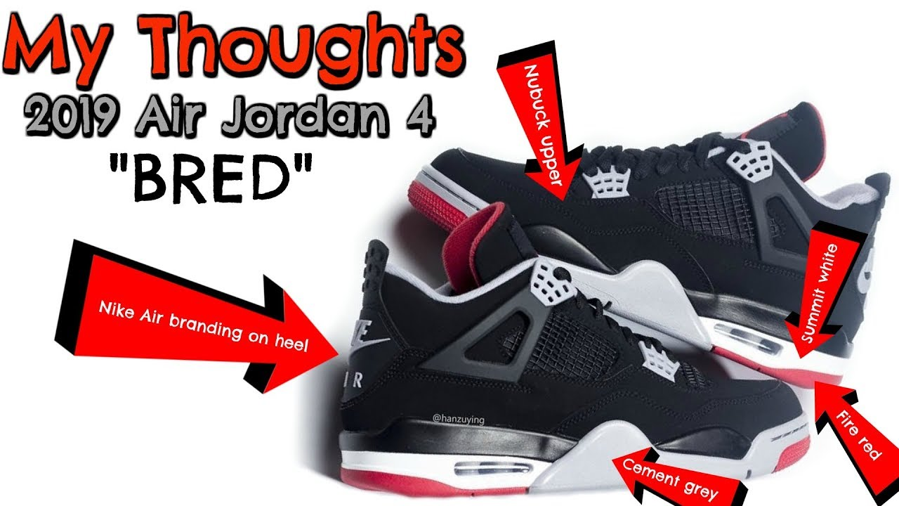 ed6d6ad74e7f My Thoughts On The 2019 Air Jordan 4