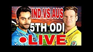 *LIVE* : India vs Australia - Live Streaming Score Hindi Commentary | IND vs AUS 3rd T20 13 oct 2017