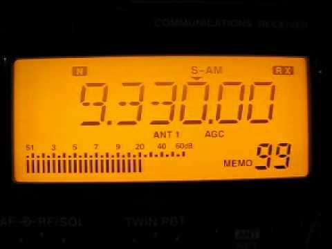 Radio Damascus 9330 kHz. 13.9.2012.