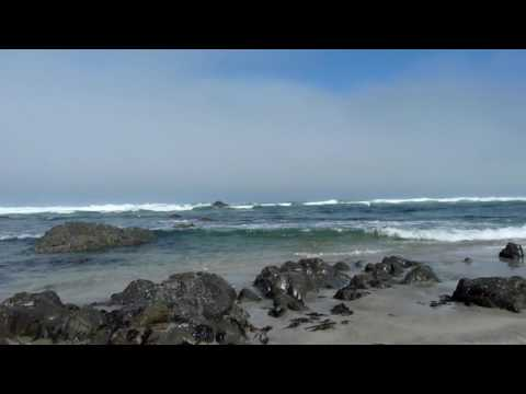 Soothing ocean sounds of the California Coast