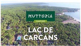 Visite virtuelle d'Huttopia Lac de Carcans, en Gironde