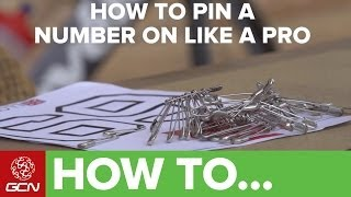 How To Pin Y๐ur Race Number