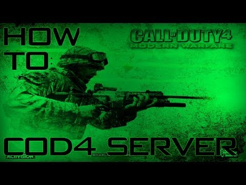 TUTORIAL:How To Host A Public Cod4 Server For Free!!!