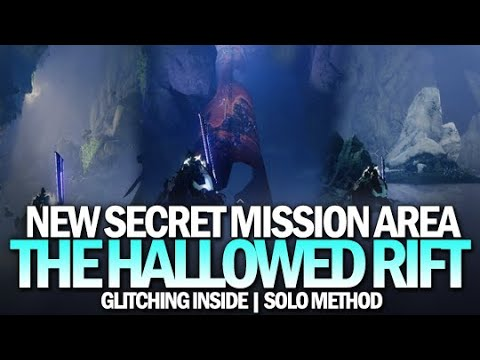 New Secret Mission Area?  Glitching Into The