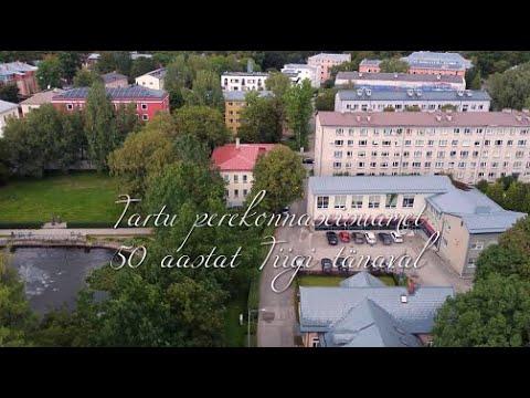 Enriko Talvistu tutvustab Tartu perekonnaseisuasutuse Tiigi 12 hoonet