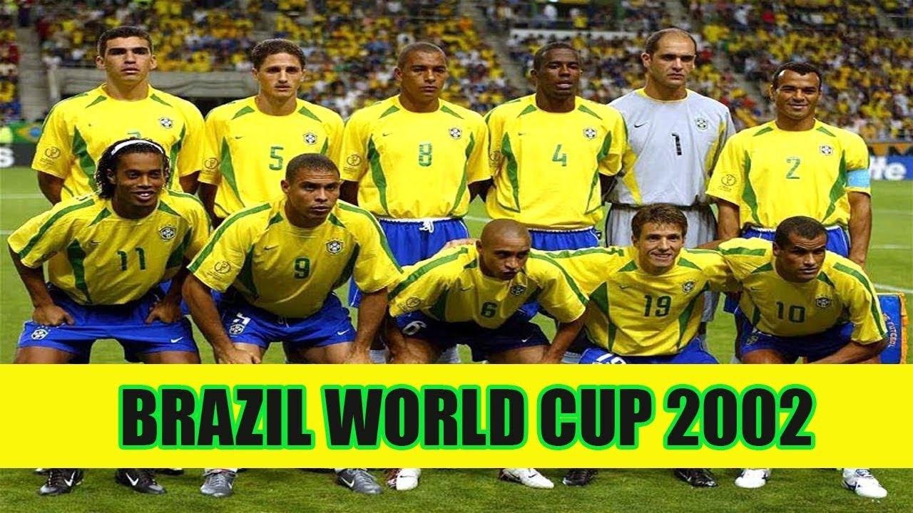 บราซิลชุดแชมป์โลก 2002 มีใครกันบ้าง - Brazil 2002 - THEN and Now