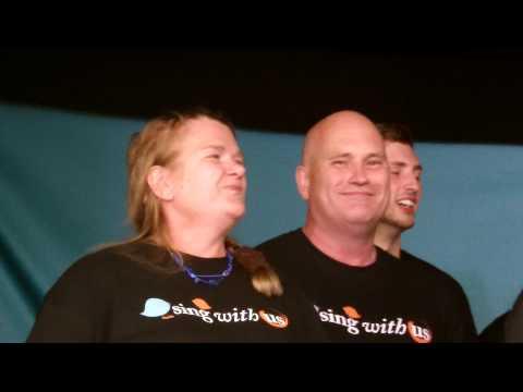 sing with us wrexham llangollen 2014