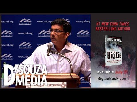 Dinesh D'Souza UNLEASHES on the Left's intolerant tolerance