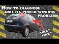 How to diagnose and fix power window problems - Ford Focus 2001
