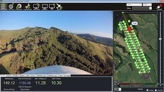 Arduplane terrain following test