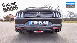 2019 Ford Mustang GT (450hp) - pure SOUND (60FPS)