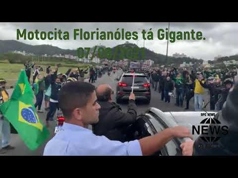 MITO CHEGANDO NA MOTOCIATA DE FLORIANÓPOLIS SC.