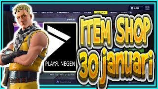 | FORTNITE NL/BE | ITEM SHOP 30 January 2019 | * NEW * CABBIE Skin!! | Playr Nine (English)