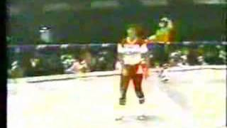 roller derby fight Judy Sowinski vs Lynn Congleton