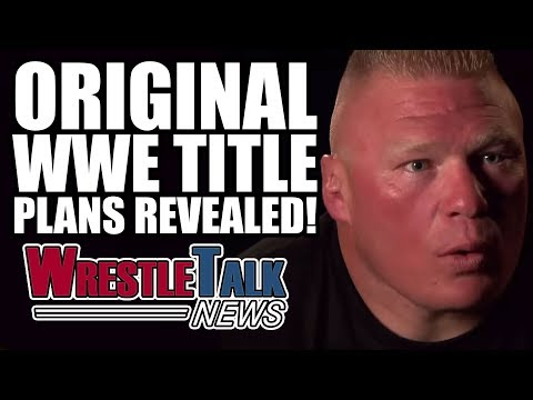 WWE Stars Shoot On Fans! Original WWE Title Plans Revealed! | WrestleTalk News May 2017