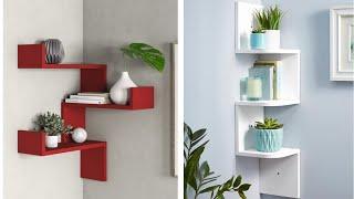 Corner Wall Rack Design Ideas 2020 | Modern Corner Wall Shelf Designs