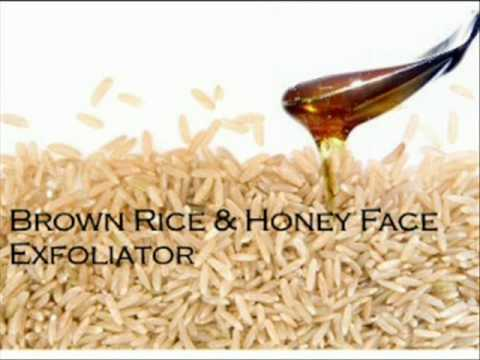 DIY: Brown rice Acne scrub