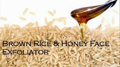 DIY: Brown rice Acne scrub