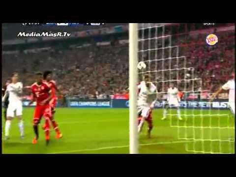 الشوط الاول من مباراة بايرن ميونيخ 0 4 ريال مدريد تعليق عصام الشوالي 29 4 2014