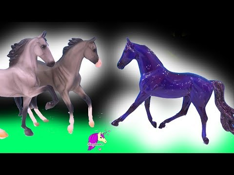 Falling Star Horse ! Breyer Classic Play Video by Honey Hearts C