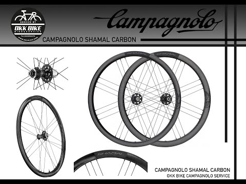 2021. open box ล้อเสือหมอบคาร์บอน ดิสเบรค ยี่ห้อ  campagnolo รุ่น shamal carbon disc brake okk.bike