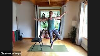 Chair Yoga, June 28th 2021