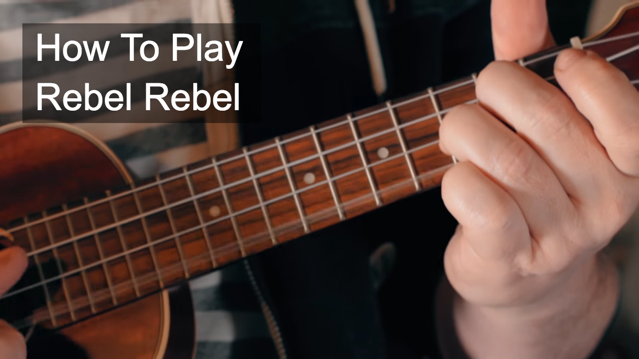 Rebel Rebel   Bowie Ukulele Lesson