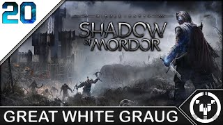 GREAT WHITE GRAUG | Middle-Earth Shadow of Mordor | 20
