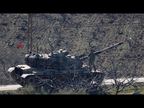 Syria 'powder keg' building as US denies involvement with Kurds
