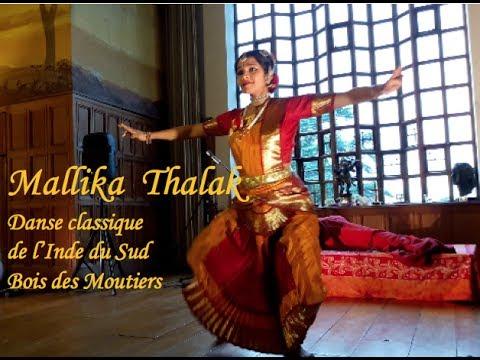 DANSE BHARATA NATYAM -  MALLIKA THALAK  -  BOIS DES MOUTIERS