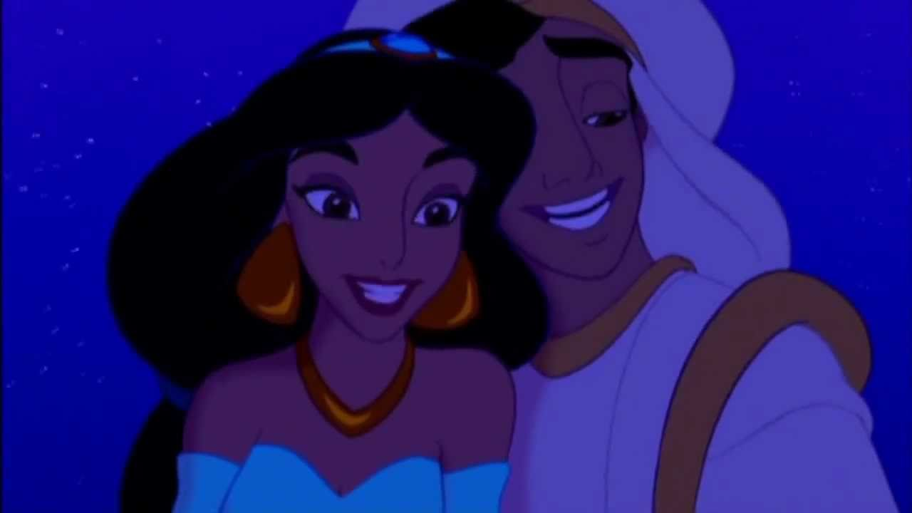 Disney's Aladdin A Whole New World Greek HD - YouTube