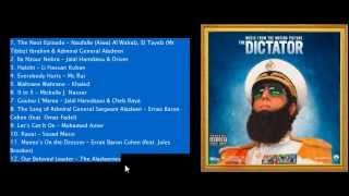 The Dictator Soundtrack List