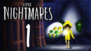 Little Nightmares - BAD DREAMS & CONSTANT DEATH ~Part 1/The Prison~ (Creepy Indie Adventure Game)