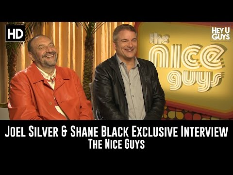 Joel Silver & Shane Black Exclusive Interview - The Nice Guys