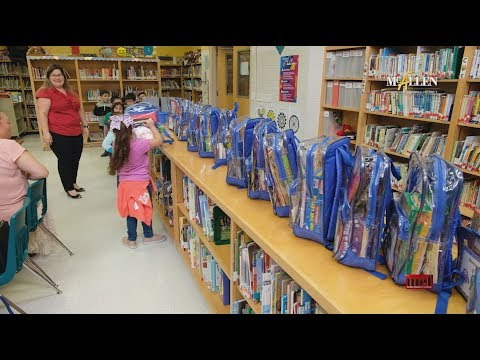 MEF Grant: It's All in the Bag at Sam Houston Elementary