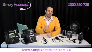 How Corded Headsets Work For Office Telephones