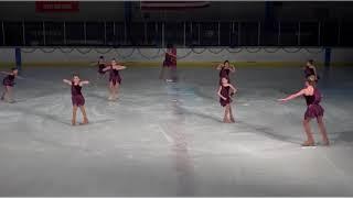 Jenna Kanouse figure skating 2017 B
