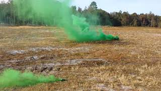 ALSG973G Triple Action Grenade Green Smoke