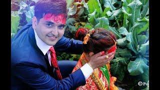 मङ्सिरे बेहुला बेहुलिको दोहोरी नाच || Asish Weds Pushmita