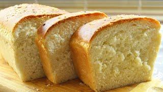 Простой хлеб Кирпичик на сухих дрожжах в духовке Бабушкин рецепт домашнего хлеба на воде