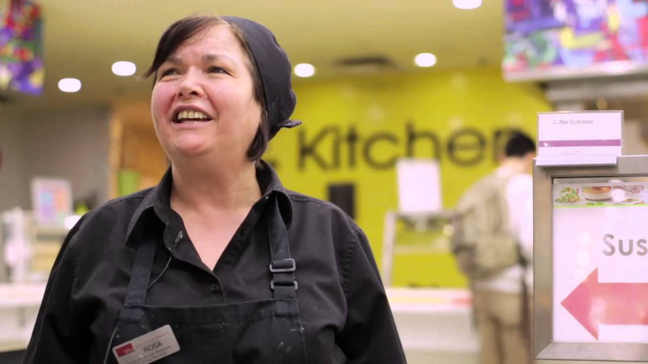 SFU Dining Hall - Dining Services - YouTube