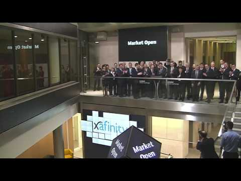 Xafinity plc Celebrates First Day of Trading