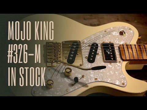 Mojo King #326 - Vintage White, Arctic Birch Fretboard - In Stock Now