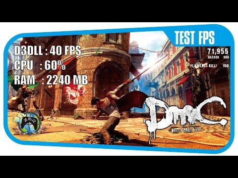 Devil May Cry Test FPS - AMD A8 7410 & Radeon R5 M320 Grapich [Asus X454YI]