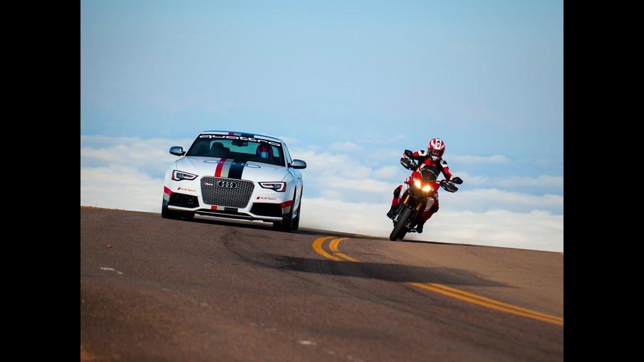 Audi  Ducati ComeTogether at Pikes Peak  YouTube