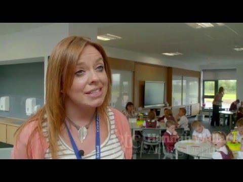 Teaching Scotland visits Crieff Primary School