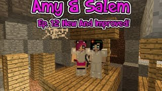 Minecraft Pc Amy & Salem Ep.12 New And Improved!