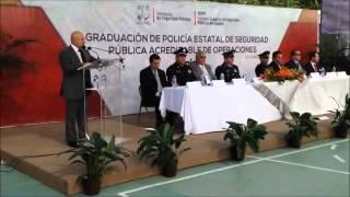 Discurso Secretario de Seguridad Pública en Sonora