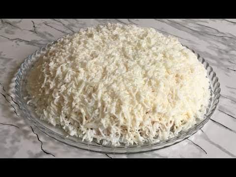 """Салат """"Невеста"""" Невероятная Нежность и Сочетание Вкусов Идеален Для Праздника!!! / Salad Bride"""