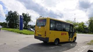 Детский автобус едет домой